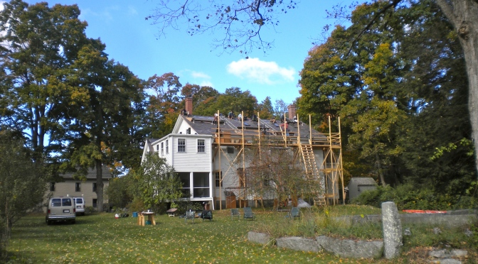 Harvard Shaker Meeting House — New Slate Roof
