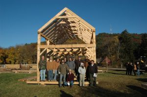 Group Shot on the completed frame