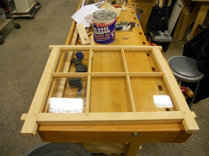 Making a case for building traditional window sash by hand for Build your own window