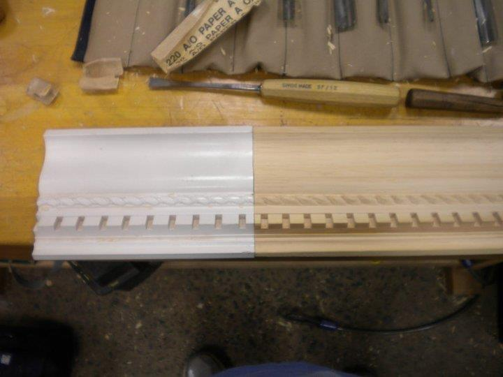 Carve the rope pattern