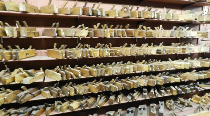 Hand Tool Heaven — Shaker Barn at Shelburne Museum VT