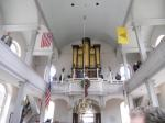 Inside the historic Old North Church