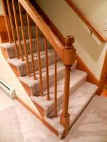 Larger scale, like this newel post