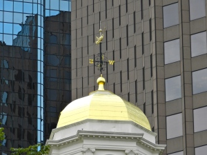 Grasshopper on top Faneuil Hall in Boston