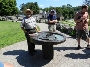At the Saugus Ironworks NHP