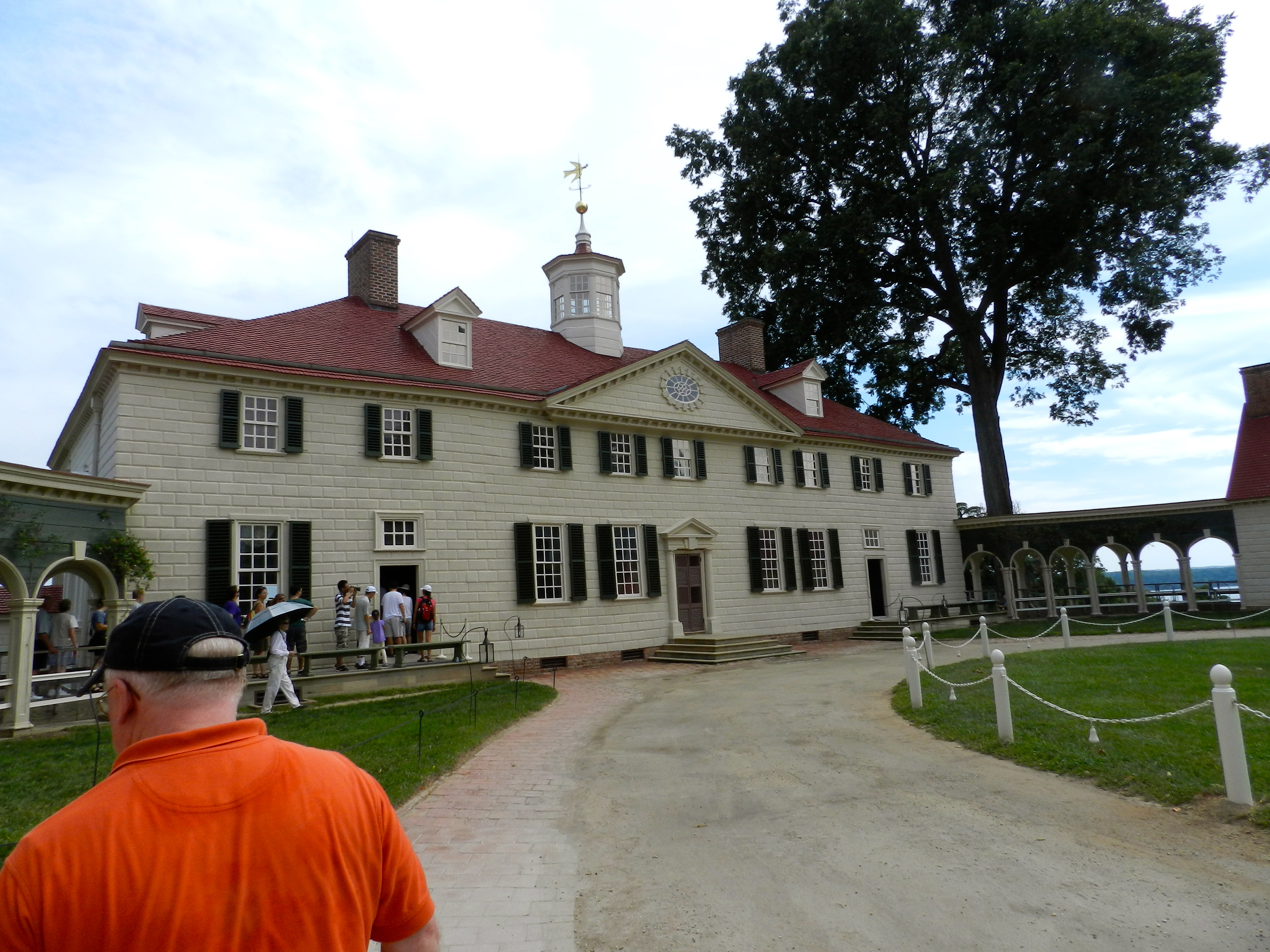 turning wood into stone rustication at mount vernon