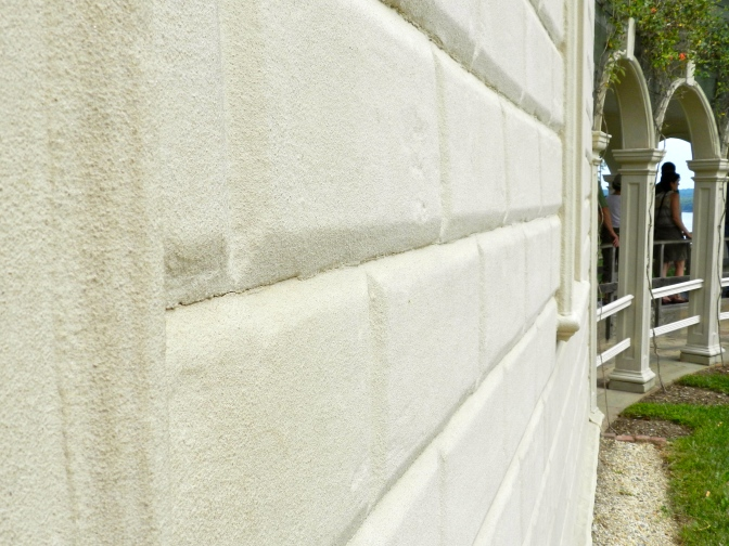 Turning Wood Into Stone — Rustication at Mount Vernon