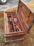 Chest with Heavy Metal reinforced corners