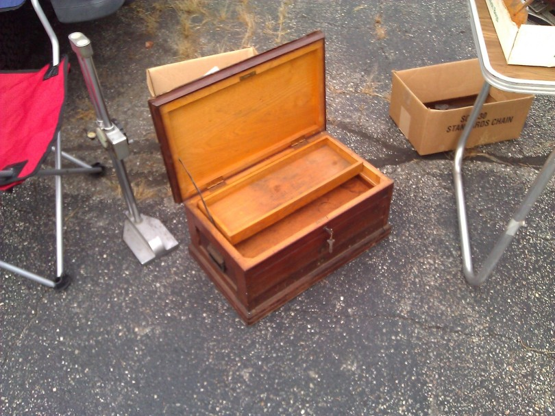 Small portable chest
