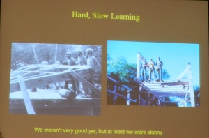 Hard, Slow Learning: We Weren't Very Good Yet, but at Least We Were Skinny -- from Ted Benson's Talk
