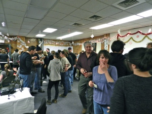 A view of the NBSS Holiday Party