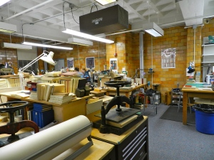 New workspace for the Bookbinding program