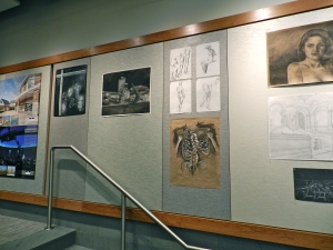 BAC Student work on display