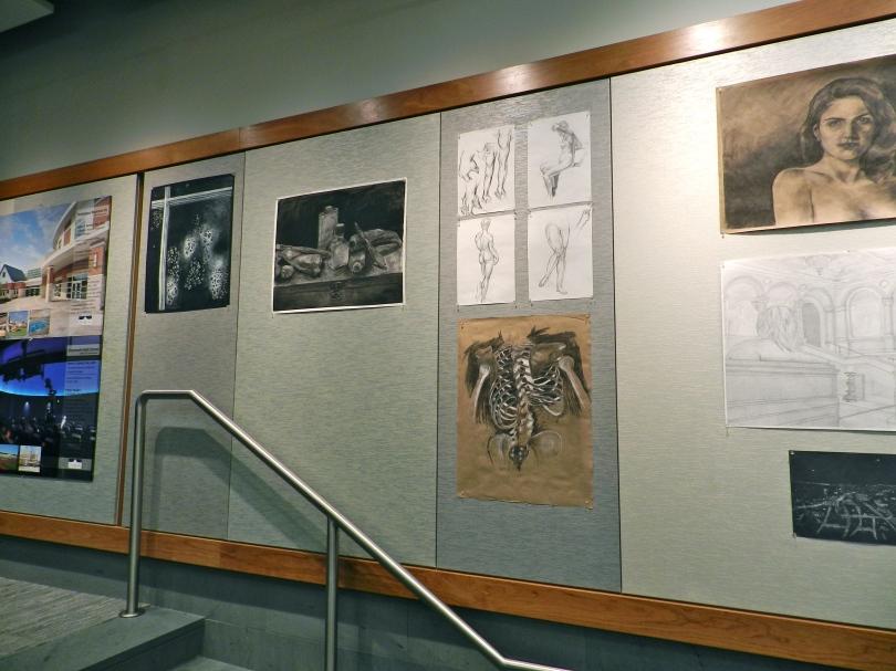 BAC Student work on display