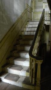 Central Stair Hall, Wellington House, Waltham MA