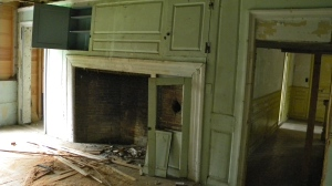 The 'Before' this was the kitchen fireplace surround as we found it