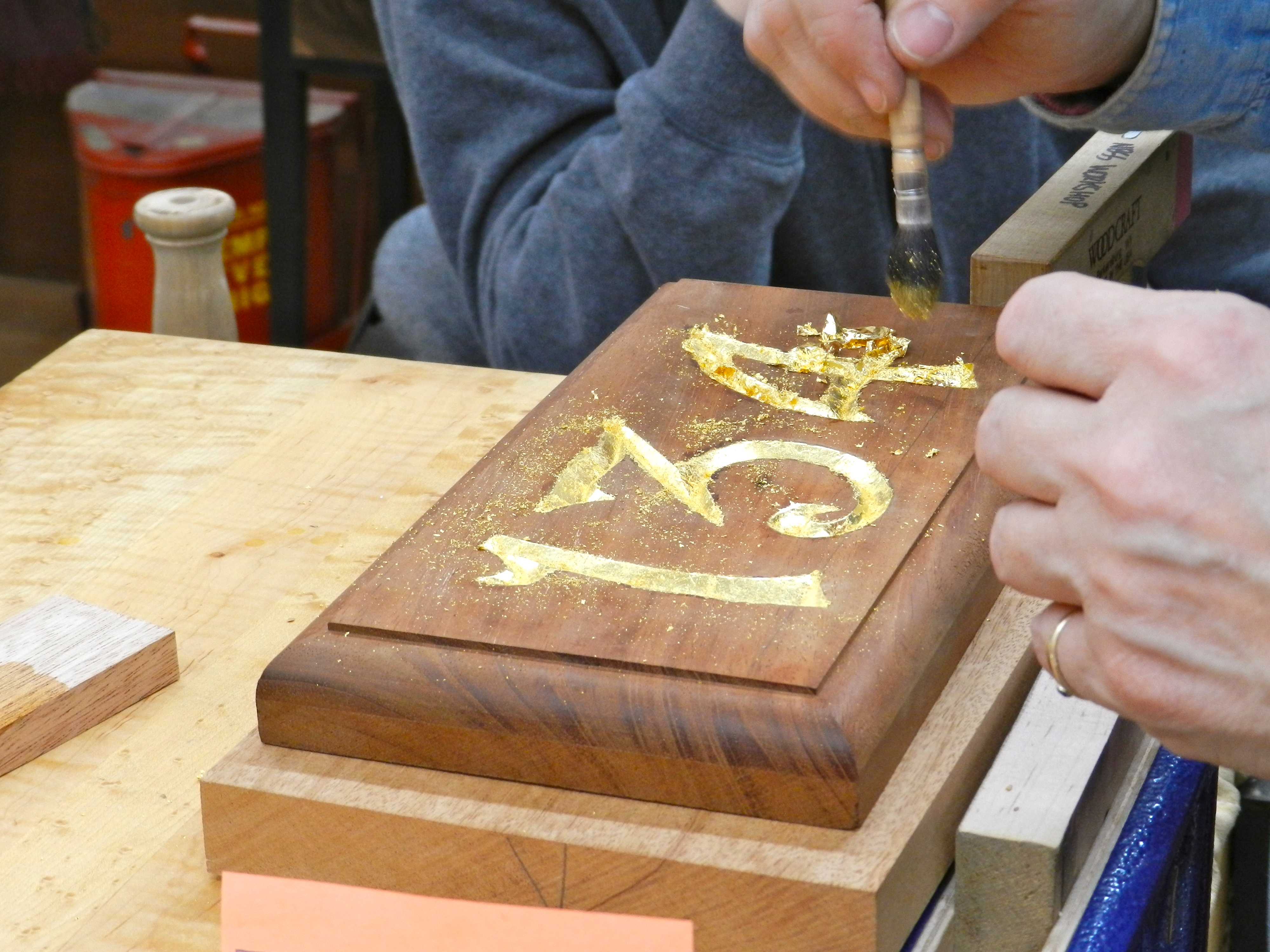 Signing your name in wood… rainford restorations