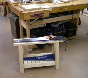 Panel Saws On Saw Bench