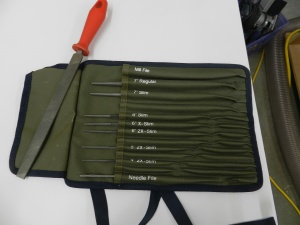 Lee Valley Saw File Set + Tool Roll
