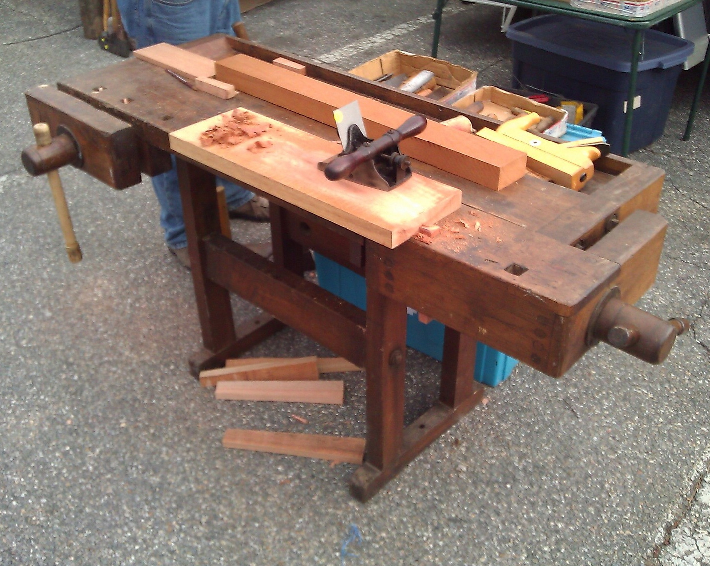Antique Workbench For Sale Craigslistwoodplansdiy