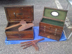 Pair of tool chests
