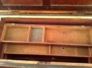 Sliding Tool Trays or Tills -- Nantucket Tool Chest