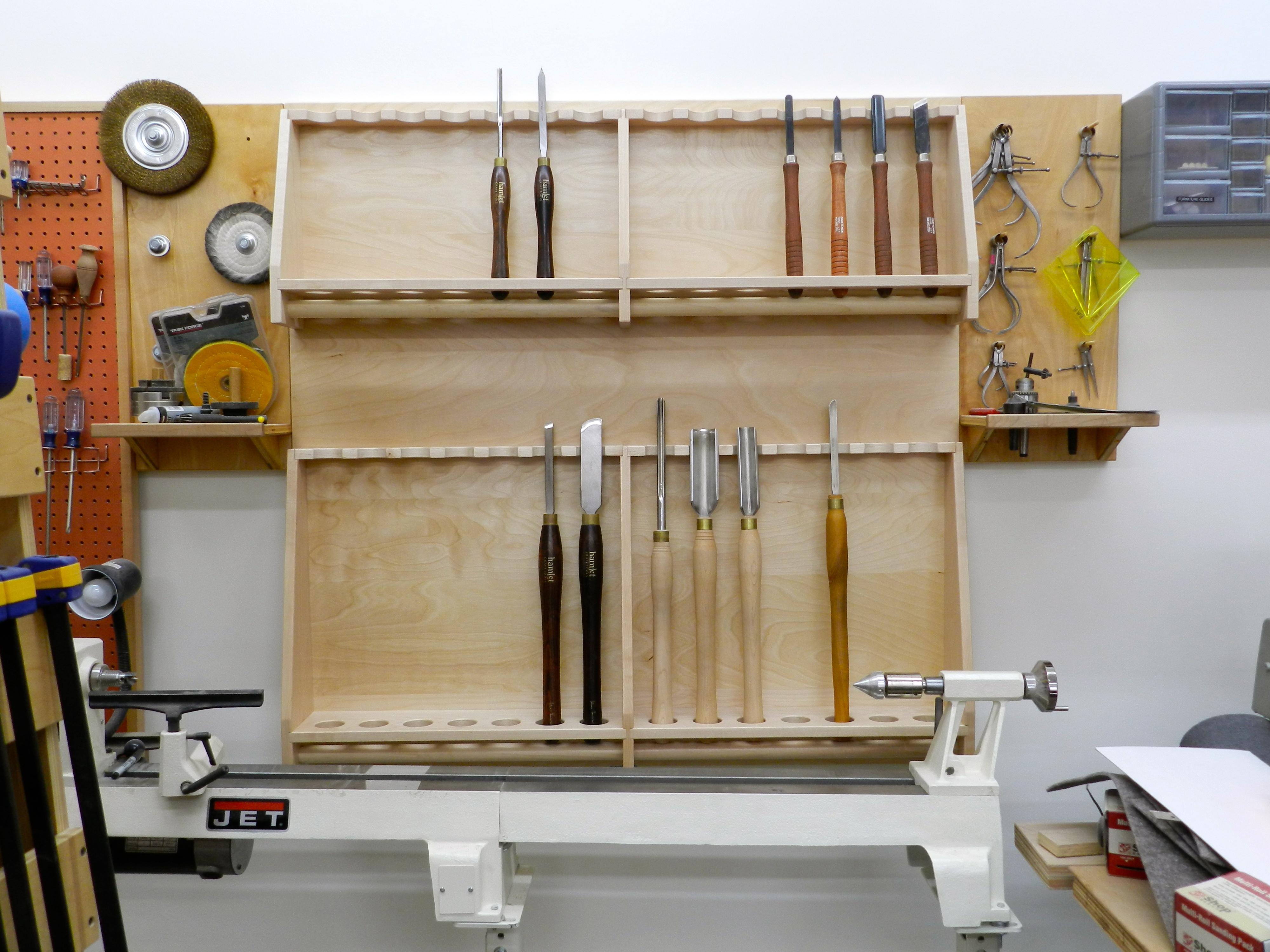 Rack Em Up Lathe Tool Rack Rainford Restorations