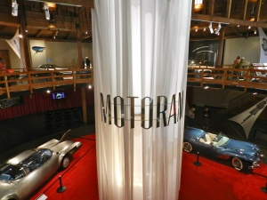 Motorama signage and the largest collection of Corvette Prototypes I've ever seen in one location