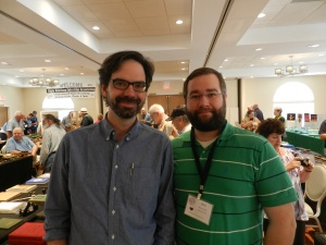 It was great to finally meet Chris Schwarz in person as I've been a fan of his work and writing for a long time.