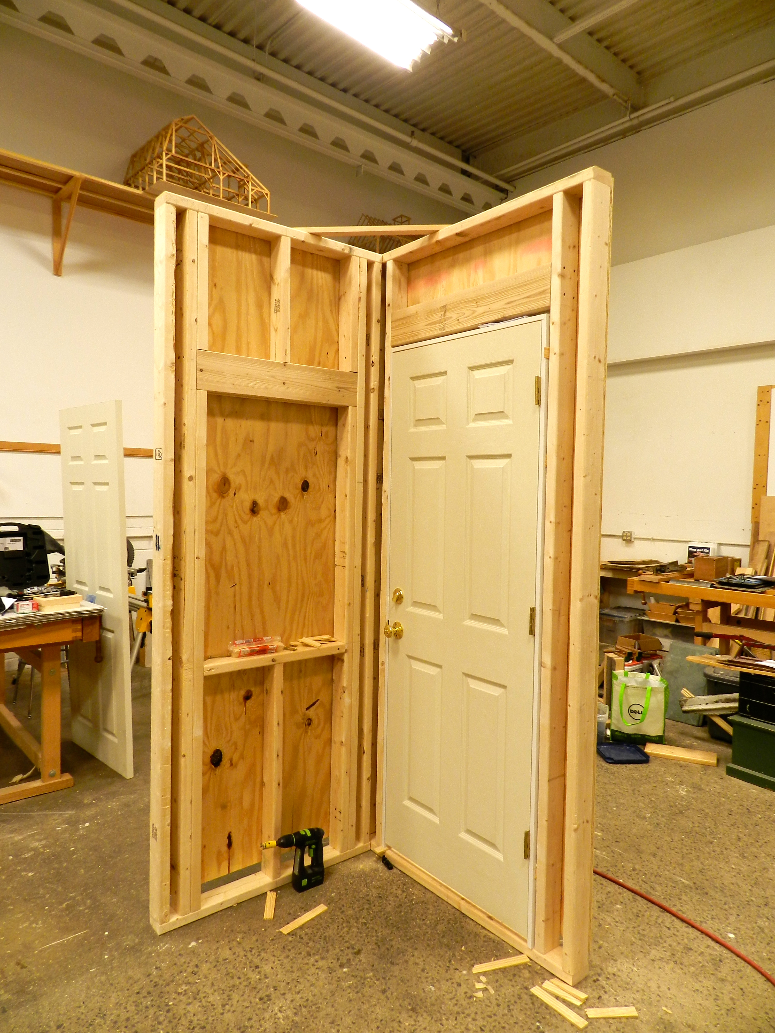 Door and Window Framing Mockup & Door Installation | Rainford Restorations Pezcame.Com