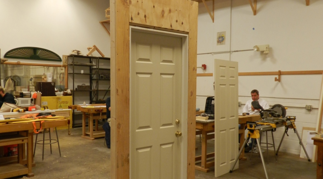 Door Install Mockups
