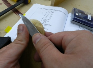 Practice whittling with some Eastern White Pine