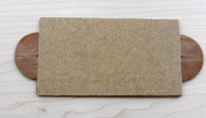 Completed match scratcher with 'No. 1' sandpaper (aka Fine Sandpaper)