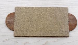 Completed match scratcher with 'No. 1' sandpaper (aka Fine Sandpaper)