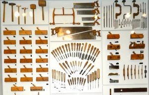 A sampling of the tools from inside the chest