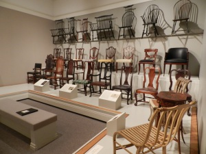 Sample of the many chair variations created by Massachusetts craftsmen