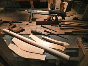Templates in the Dominy Furniture Workshop