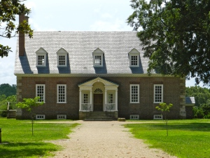 Gunston Hall (From the landed entrance)