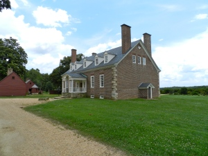 3/4 View of Gunston Hall