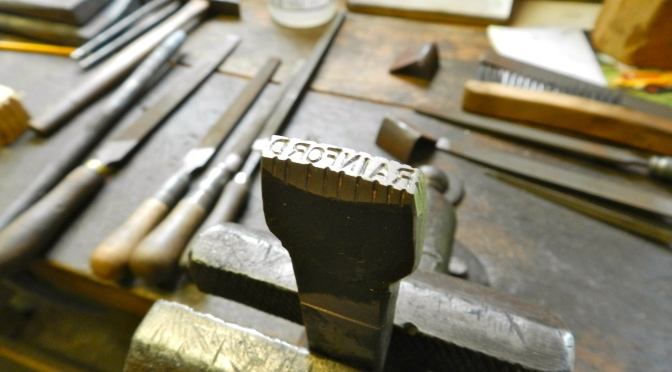 Making Your Mark — Name Stamps with Peter Ross