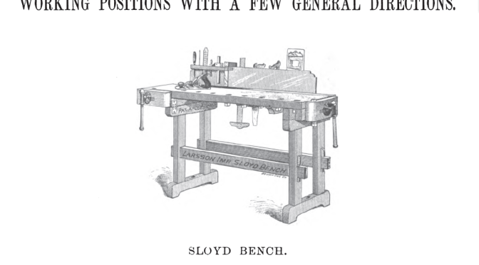 Sloyd Workbench — Larsson Adjustable Workbench