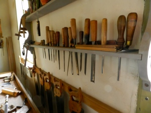 Full chisel rack