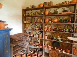 Some wares made by the Potter in his shop