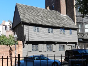 The Paul Revere House, Boston, MA
