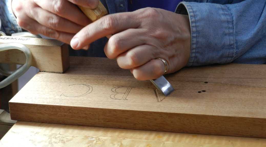 Letter Carving (with Janet Collins)