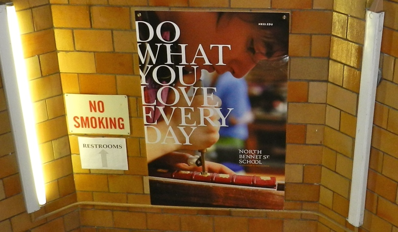 Part of the new NBSS marketing campaign 'Do what you love, every day'