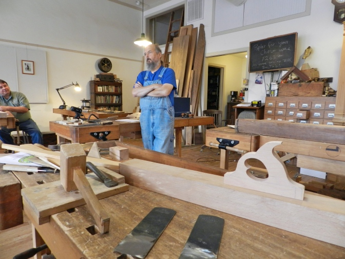 Making a Jointer Plane with Willard 'Bill' Anderson — Part 1