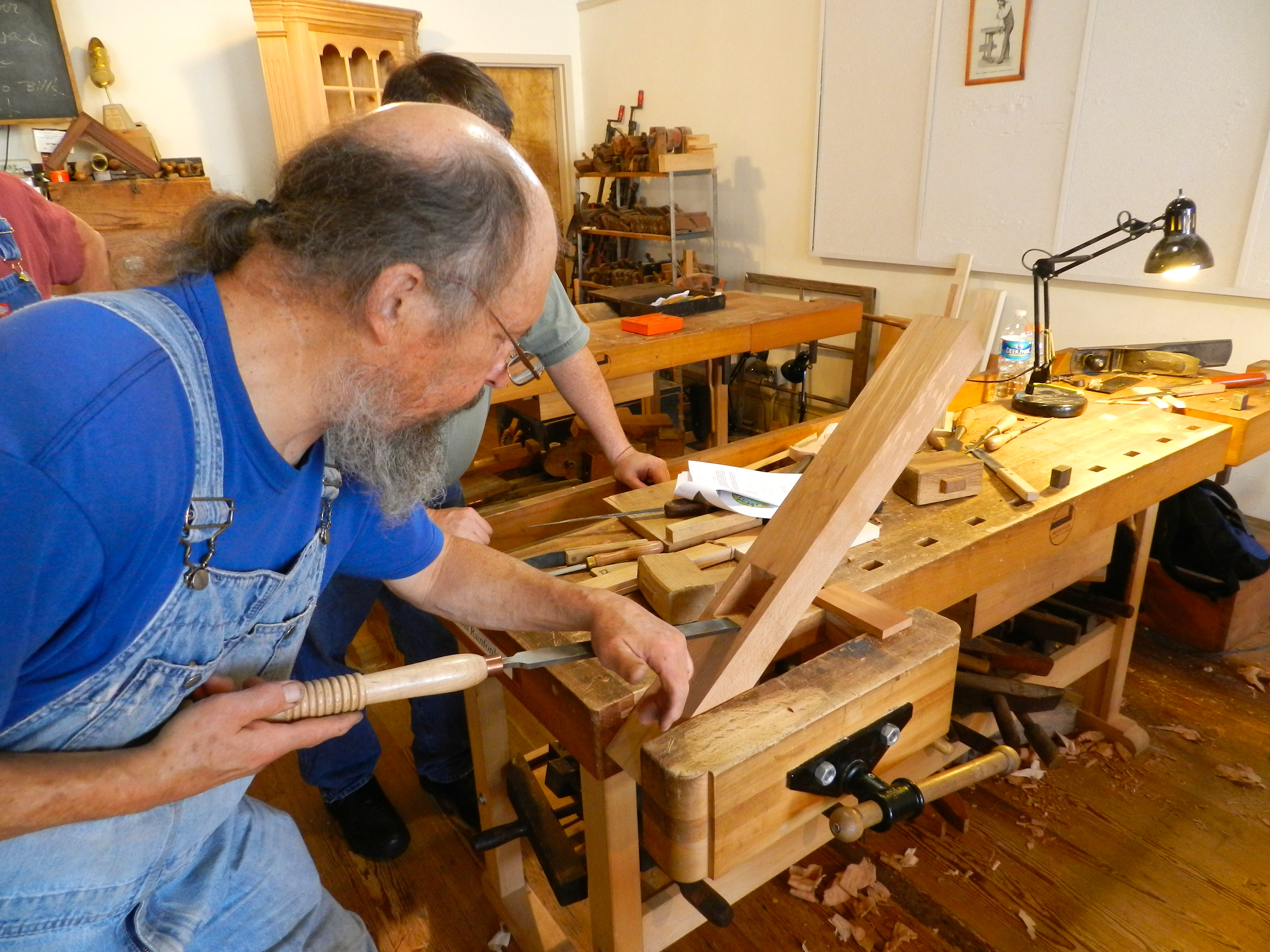 Making A Jointer Plane With Willard Bill Anderson Part 1