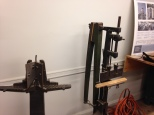 Human powered miter and mortising machines in the PC dept.