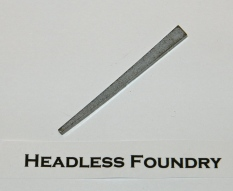 Headless Foundry Cut Nail